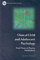 Clinical Child and Adolescent Psychology av Martin Herbert (Heftet)