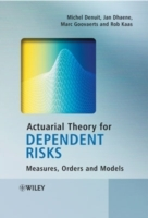 Actuarial Theory for Dependent Risks av M. Denuit, Jan Dhaene, Marc Goovaerts og Rob Kaas (Innbundet)