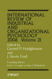 International Review of Industrial and Organizational Psychology 2006 (Innbundet)