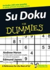 Omslag - Su doku for dummies