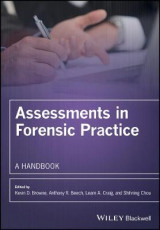Omslag - Assessments in Forensic Practice