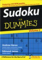 Su Doku For Dummies: v. 2 av Andrew Heron og Edmund James (Heftet)