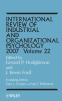 International Review of Industrial and Organizational Psychology 2007 av Gerard P. Hodgkinson og J. Kevin Ford (Innbundet)
