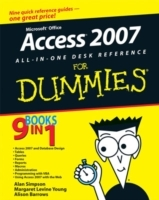 Microsoft Office Access 2007 All-in-one Desk Reference For Dummies av Alan Simpson, Margaret Levine Young, Alison Barrows, April Wells og Jim McCarter (Heftet)