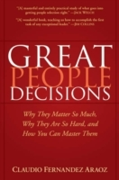 Great People Decisions av Claudio Fernandez Araoz (Innbundet)