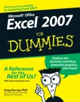 Excel 2007 For Dummies av Greg Harvey (Heftet)