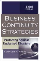 Business Continuity Strategies av Kenneth N. Myers (Innbundet)