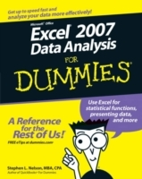 Excel 2007 Data Analysis For Dummies av Stephen L. Nelson (Heftet)