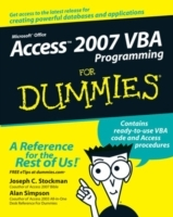 Access 2007 VBA Programming For Dummies av Joseph C. Stockman og Alan Simpson (Heftet)