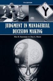 Judgment in Managerial Decision Making, 7th Edition av Max H. Bazerman (Innbundet)