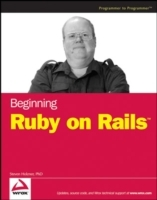 Beginning Ruby on Rails av Steven Holzner (Heftet)