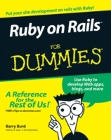Ruby on Rails For Dummies av Barry Burd (Heftet)