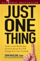 Just One Thing (Heftet)