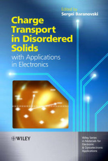 Charge Transport in Disordered Solids with Applications in Electronics (Innbundet)