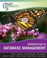 Wiley Pathways Introduction to Database Management av Mark L. Gillenson, Paulraj Ponniah, Alex Kriegel, Boris M. Trukhnov, Allen G. Taylor, Gavin Powell, Frank Miller og Carol Guercio Traver (Heftet)