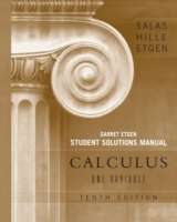 Student Solutions Manual for Calculus: One Variable, 10e (Chapters 1 - 12) av Saturnino L. Salas, Garret J. Etgen og Einar Hille (Heftet)