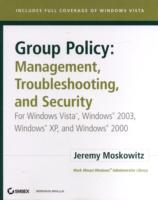 Group Policy - Management, Troubleshooting, and Security av Jeremy Moskowitz (Blandet mediaprodukt)
