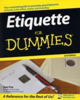 Etiquette For Dummies av Sue Fox (Heftet)