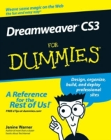 Dreamweaver CS3 For Dummies av Janine Warner (Heftet)