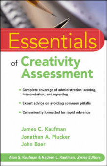 Essentials of Creativity Assessment av James C. Kaufman, Jonathan A. Plucker og John Baer (Heftet)