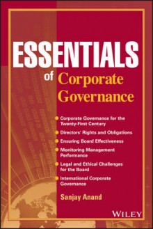 Essentials of Corporate Governance av Sanjay Anand (Heftet)