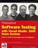 Professional Software Testing with Visual Studio 2005 Team System av Tom Arnold, Mike Frost, Dominic Hopton og Andy Leonard (Heftet)