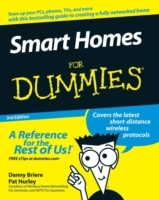 Smart Homes For Dummies av Danny Briere og Pat Hurley (Heftet)