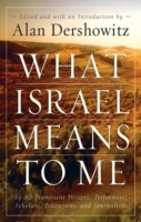 What Israel Means to Me av Alan M. Dershowitz (Heftet)