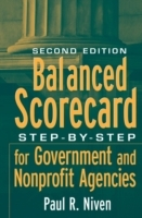 Balanced Scorecard Step-By-Step for Government and Nonprofit Agencies Second Edition av Paul R. Niven (Innbundet)