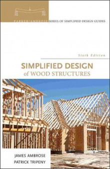 Simplified Design of Wood Structures av James Ambrose og Patrick Tripeny (Innbundet)
