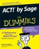ACT! by Sage For Dummies av Karen S. Fredricks (Heftet)