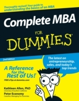 Complete MBA for Dummies, Second Edition av Kathleen Allen og Peter Economy (Heftet)