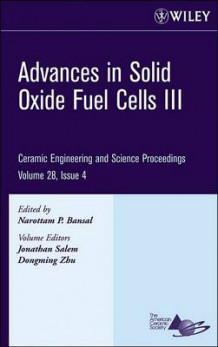 Advances in Solid Oxide Fuel Cells III av Narottam P. Bansal (Innbundet)