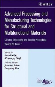 Advanced Processing and Manufacturing Technologies for Structural and Multifunctional Materials (Innbundet)