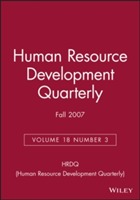 Human Resource Development Quarterly Fall 2007: v. 18, No. 3 av HRDQ (Human Resource Development Quarterly) (Heftet)