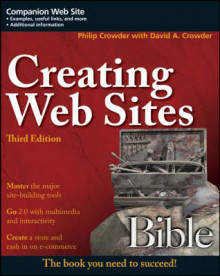 Creating Web Sites Bible av Phillip Crowder og David A. Crowder (Heftet)