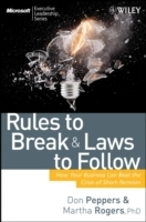 Rules to Break and Laws to Follow av Don Peppers og Martha Rogers (Innbundet)