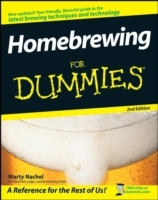Homebrewing For Dummies av Marty Nachel (Heftet)