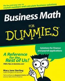 Business Math For Dummies av Mary Jane Sterling (Heftet)