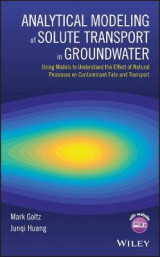 Omslag - Analytical Modeling of Solute Transport in Groundwater: 1