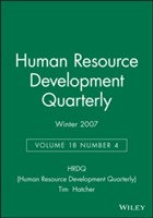 Human Resource Development Quarterly Winter 2007 av HRDQ (Human Resource Development Quarterly) (Heftet)
