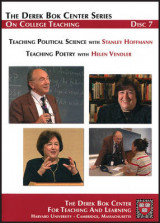 Omslag - Teaching Political Science: AND Teaching Poetry
