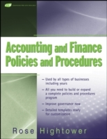 Accounting and Finance Policies and Procedures av Rose Hightower (Heftet)