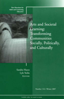 Arts and Societal Learning (Heftet)