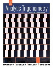 Analytic Trigonometry with Applications, 10th Edition av Raymond A. Barnett, Karl E. Byleen og Michael R. Ziegler (Innbundet)