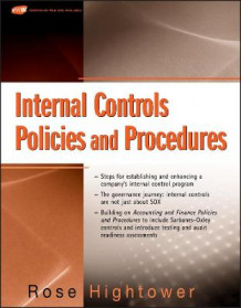 Internal Controls, Policies and Procedures av Rose Hightower (Heftet)