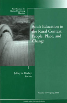 Adult Education in the Rural Context av Adult and Continuing Education (ACE) (Heftet)