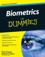 Biometrics For Dummies av Peter H. Gregory og Michael A. Simon (Heftet)