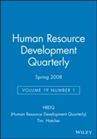 Human Resource Development Quarterly Spring 2008: v. 19, No. 1 av HRDQ (Human Resource Development Quarterly) (Heftet)