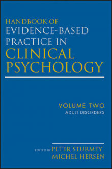 Handbook of Evidence-Based Practice in Clinical Psychology av Michel Hersen og Peter Sturmey (Innbundet)